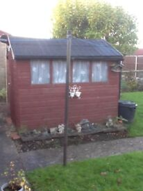 Garden shed 8ft X 6ft
