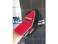 Vintage Ducatti Racing Cap