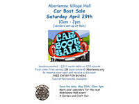 Aberlemno Car Boot Sale