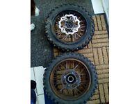2 pitbike rear wheels offers