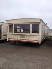 APPROVED STATIC CARAVAN FOR SALE ON QUIET FAMILY RUN SITE CLOSE TO BEACH AND ALL AMENITIES