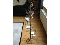 Floor standing candle or pot pouri holder