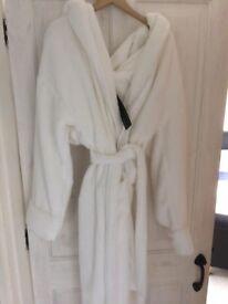 Ladies luxury dressing gown