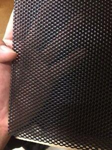 aluminium one way security door/windows mesh/screen black 1.2mx2.2m