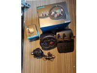 Logitech g29 racing wheel bundle PS4 & PC