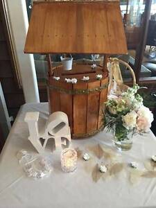 Wooden Wedding Wishing wells Ocean Reef Joondalup Area Preview