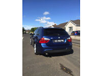 2007 BMW 320D M-Sport Touring in Le Mans Blue (Not VW Audi Merc Honda Estate)