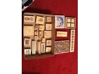 Craft stamps for card making etc. COLLECT ONLY