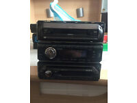 Sony Stereo And Sendai cd/mp3 player car stereo also mercedes (3 STEREO SYSTEMS) ONLY £25 EACH!!!