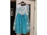 Frozen Elsa dress age 9-10