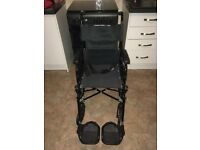 Attendant propelled wheelchair - Adult/Junior (127kg)