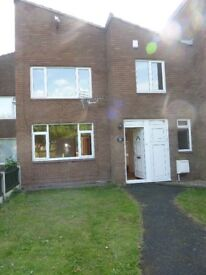 3 BEDROOM, 2 BATHROOM HOUSE - HOLLINSWOOD, TELFORD (WALKING DISTANCE FROM TOWN)