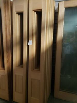 Glass Door Solid Wood - 12