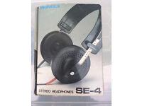 Vintage Pioneer SE-4 headphones