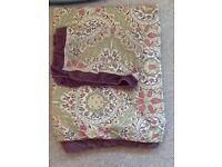 Single duvet cover and pillowcase v&a design