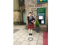 WEDDING BAGPIPER AVAILABLE FOR ANY EVENT ACROSS SCOTLAND