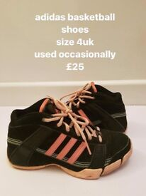 adidas woman shoes, size 4uk, £25