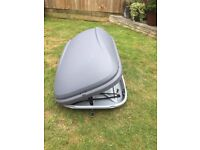 Halfords 42 ltr roof box