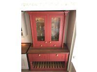 Mereway Kitchens English Revival Ex-display painted pot dresser.