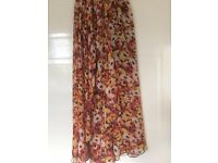 Waterfall skirt Size XS (uk 6)
