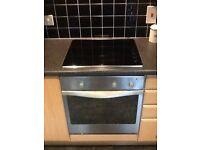 Kitchen appliances. Intregrated dishwasher,washing machine,fridge freezer oven and hob