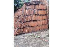 Large amounts + mixture of quality roofing tiles