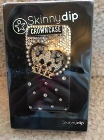 Iphone 4/4S Skinny Dip Crown Case New and in box