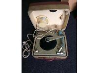 1954 original plug retro record player