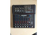 Alesis MultiMix 8 USB Audio Interface Mixing Desk Console With FX - As New