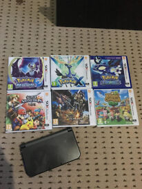 New nintendo 3ds XL with 7 Games!