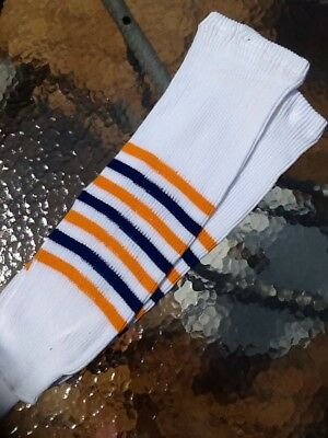 f538a41c384 Classic Buffalo Sabres Knit Hockey Socks White Youth int Size 24 Inches