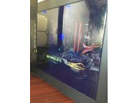 Custom Built Gaming PC/27 inch LED monitor/Roccat Gaming Keyboard+Mouse
