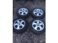 "14"" ALLOYS WITH EXCELLENT TYRES"