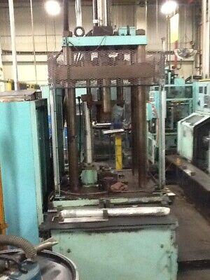 50 Ton Origin 4 Post Hydraulic Press 21 Stroke 36 Daylight 33 X 33 Bed 32 X