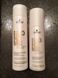 Schwarzkopf Blonde Shampoo & Conditioner