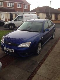 Ford Mondeo ST TDCI 2005 blue
