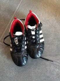 Football boots (studs) size uk1