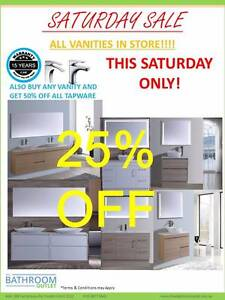 *THIS SATURDAY ONLY* SALE Bathroom Vanity Toilet - Tapware - Sink Forest Hill Whitehorse Area Preview