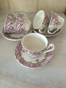 SET OF 5 TEACUPS & SAUCERS MINT CONDITION Chirnside Park Yarra Ranges Preview