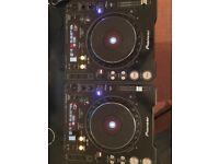 Pioneer CDJ 1000Mk3 pair