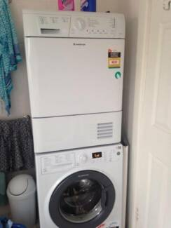 Ariston Condenser Dryer and Front Load Washer (Stackable) Tamarama Eastern Suburbs Preview