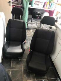 Mk4 golf 5dr cloth seats
