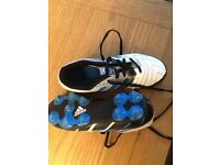 Adidas football boots size 1