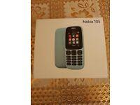 Brand new sealed Nokia 105 mobile phone