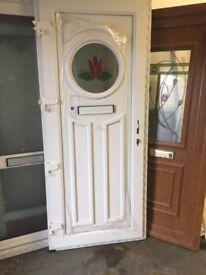 new double glazed upvc & composite doors