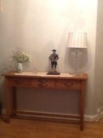 Laura Ashley ' Milton ' Oak Console Table