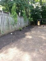 Fence repairs or replacement