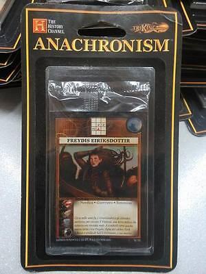 ANACHRONISM CARD GAME - FREYDIS EIRIKSDOTTIR - BLISTER ITA - THE HISTORY...