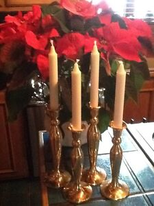Beautiful BRASS CANDLESTICKS
