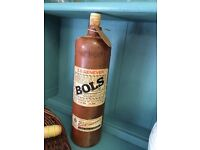 Old Vintage Bols Whisky bottle